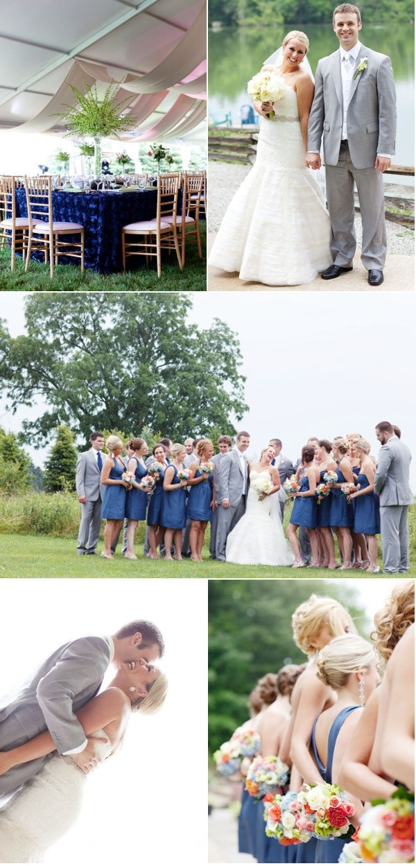 1000 Ideas About Blue Gray Weddings On Pinterest