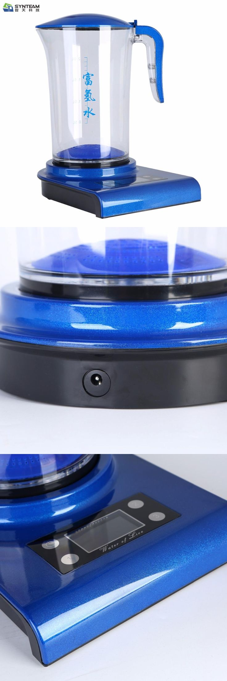 [Visit to Buy] Hydrogen Water Generator Hydrogen Rich Water Machine SYNTEAM Brand Alkaline Water Ionizers 2.0L 100-240V #Advertisement