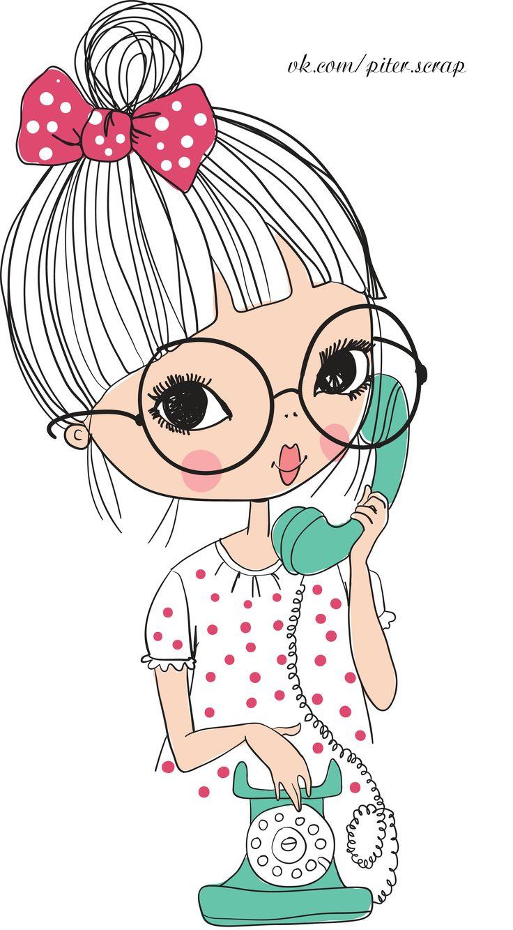 1000 ideas about whatsapp background on pinterest - Cartoon girl wallpaper ...