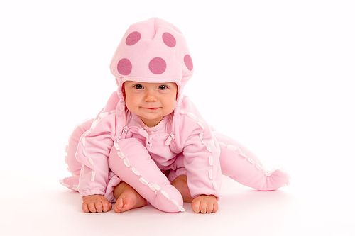 Baby in Halloween Costume    Like, share http://www.celebritybabyclothes.com/
