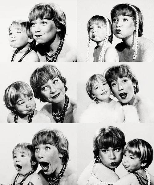 Shirley MacLaine with daughter Sachi