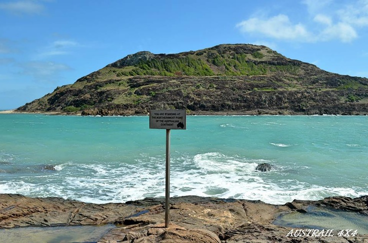 Tip of Cape York Peninsula, Far North QLD / with York Island beyond / The tidal movement between the mainland and island is so strong!