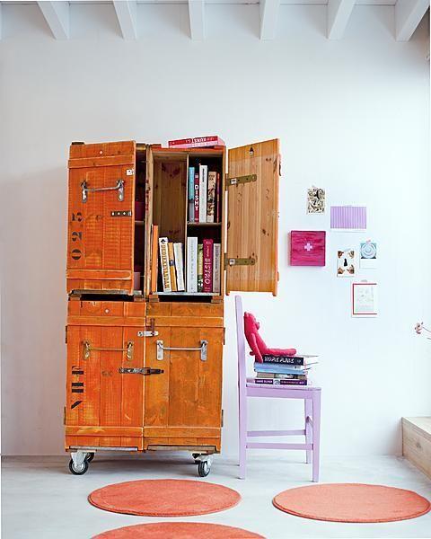 Oranje Kistkast Crafty Cabinet