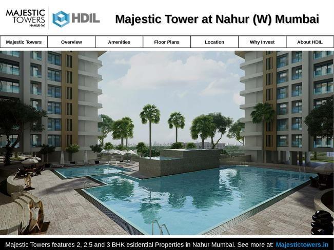 Majestic Towers - Residential Properties in Nahur Mumbai for Sale