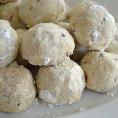 Mom's Shortbread Nut Date Balls - Finally found this recipe, loved ...