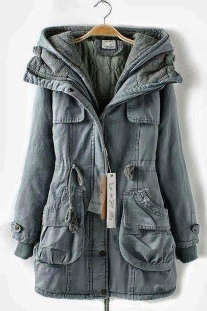 Coat: jacket, stylish, warm coat - Wheretoget