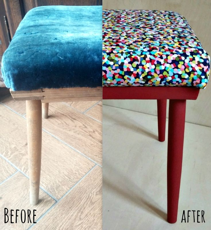 renovation of a small stool