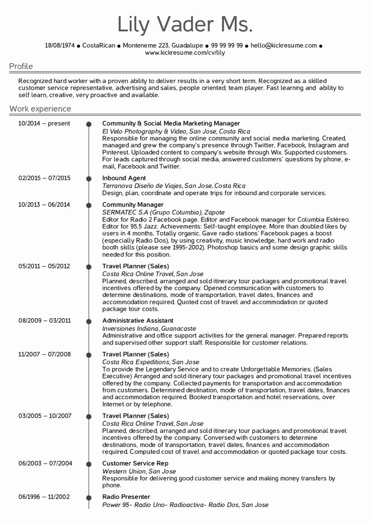 Administrative assistant resume template elegant resume