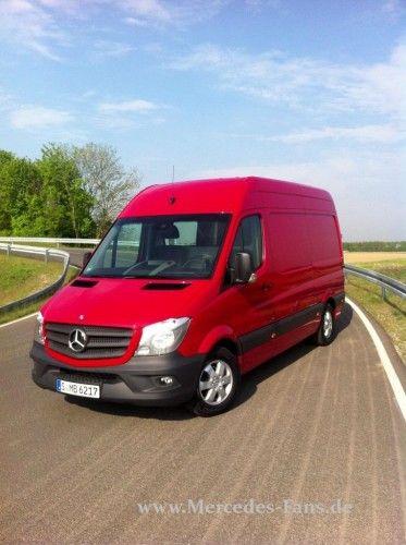 Der neue Mercedes Sprinter: Sprinterqualitäten !