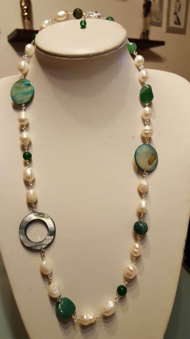 Famoso Oltre 25 fantastiche idee su Collane di perle su Pinterest  LI88