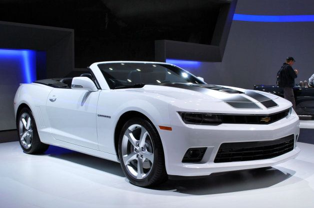 2014 Chevy Camaro Convertible brings 'Murica to the Messe