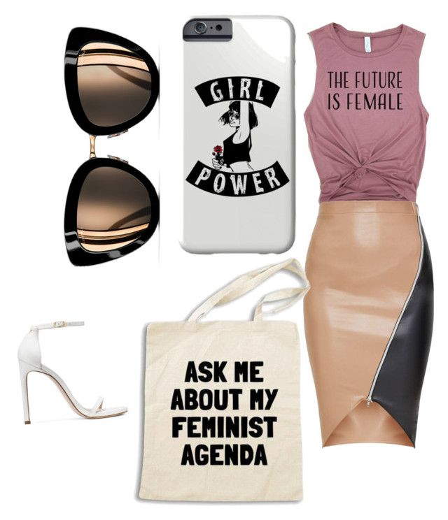 Girl god by sweetmoegee on Polyvore featuring polyvore, fashion, style, Stuart Weitzman, Chanel and clothing