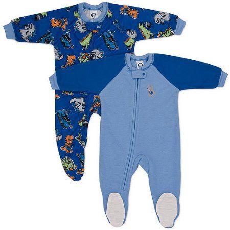 Gerber - Baby Boys' - Blanket Sleepers 2-Pack, Blue