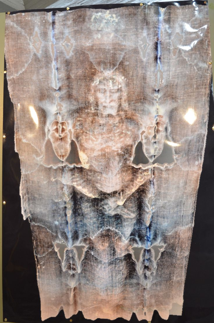 Shroud of Turin Image: Encoded 3-D Information at High Resolution.