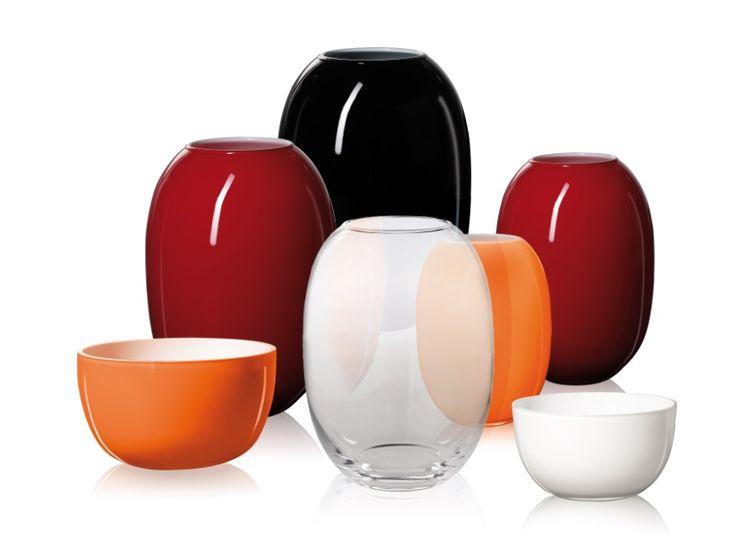 Piet Hein - Vases and bowls designed by Piet Hein.