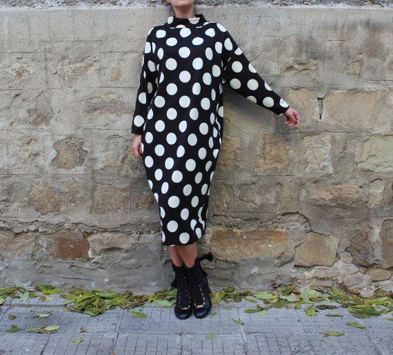 NOUVEAU printemps 2016 noir Maxi robe robe par cherryblossomsdress