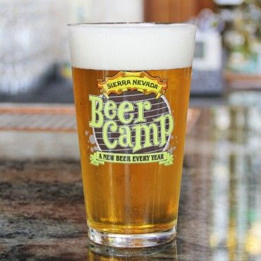 Sierra Nevada Online Gift Shop - Beer Camp Tropical IPA Pint Glass - Stock Your Bar
