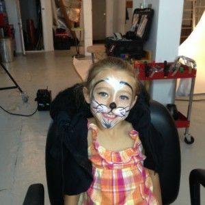 Charlotte notre petite vedette est déjà prête pour Halloween!