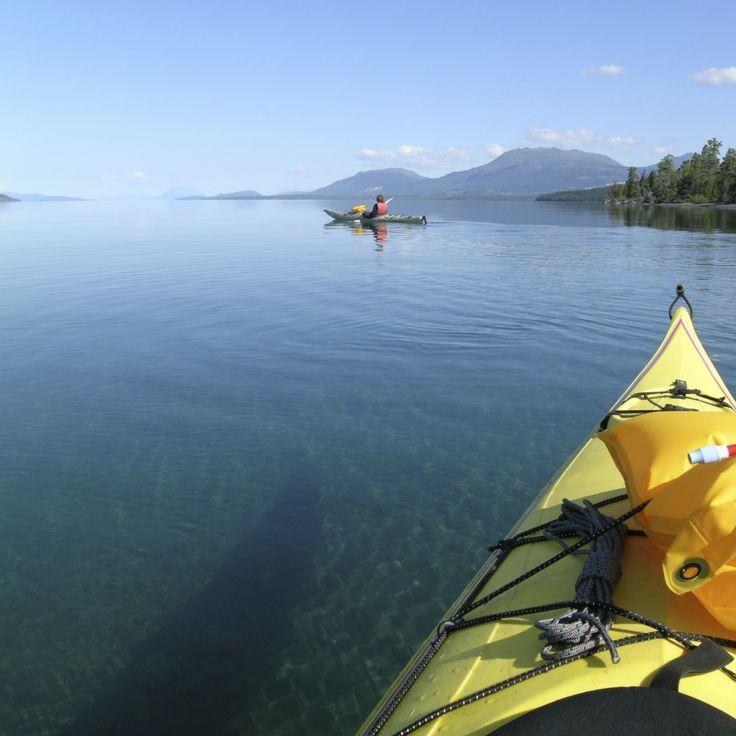 Pick up a kayak & snorkelling equipment & discover a nearby island. #EnchantedIslandSeychelles