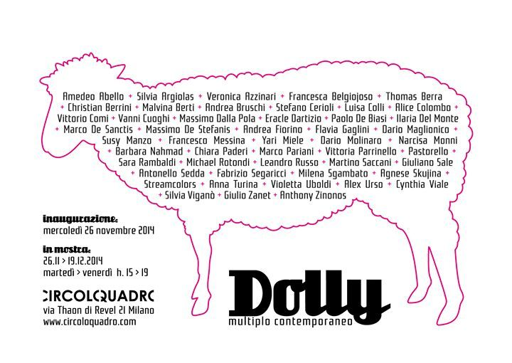 dolly multiplo contemporaneo