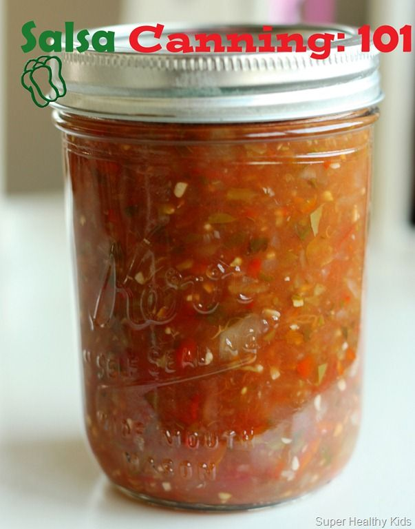 Canning Salsa | Recipes - directions for...(I have a recipe I've made for years and love, but willing to try new ones! kj)