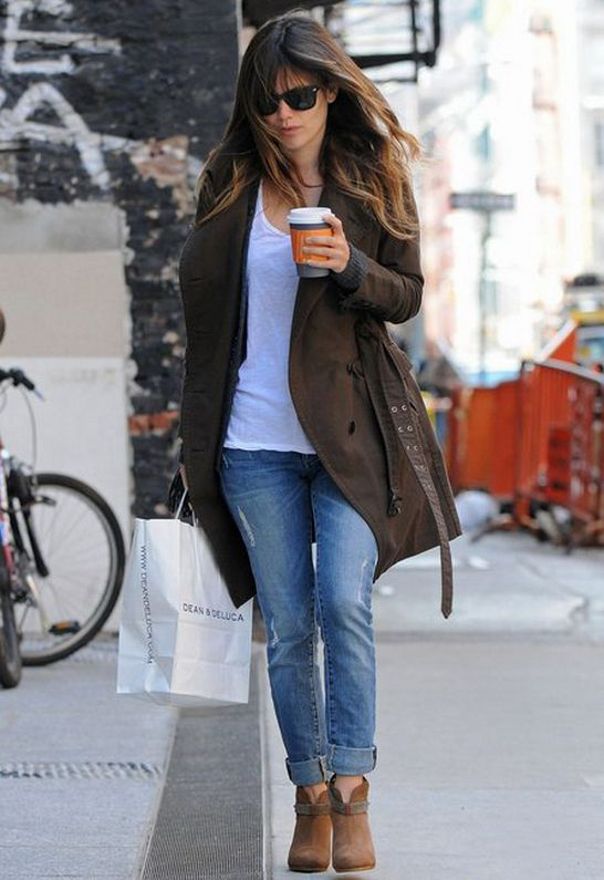 Paige Premium Denim Skyline Ankle Skinny Jean - as seen on Rachel Bilson