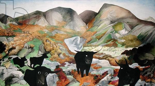 Snowdonia No.1 (1971) by Edward Burra