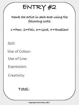 International Art Show - Art Analysis for Elementary Students