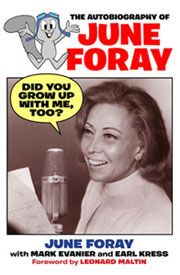 June Foray (96 and still working) is an American voice actress, best known as the voice of such animated characters as Lucifer from Cinderella, Rocky the Flying Squirrel, Cindy Lou Who, Jokey Smurf, Witch Hazel, Granny, Natasha Fatale, Nell Fenwick and Magica De Spell. Also the voice of Karen in Frosty the Snowman.