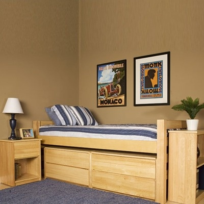 university loft graduate series extra long twin bed with tent kit a twin xl storage - Extra Long Twin Bed Frame