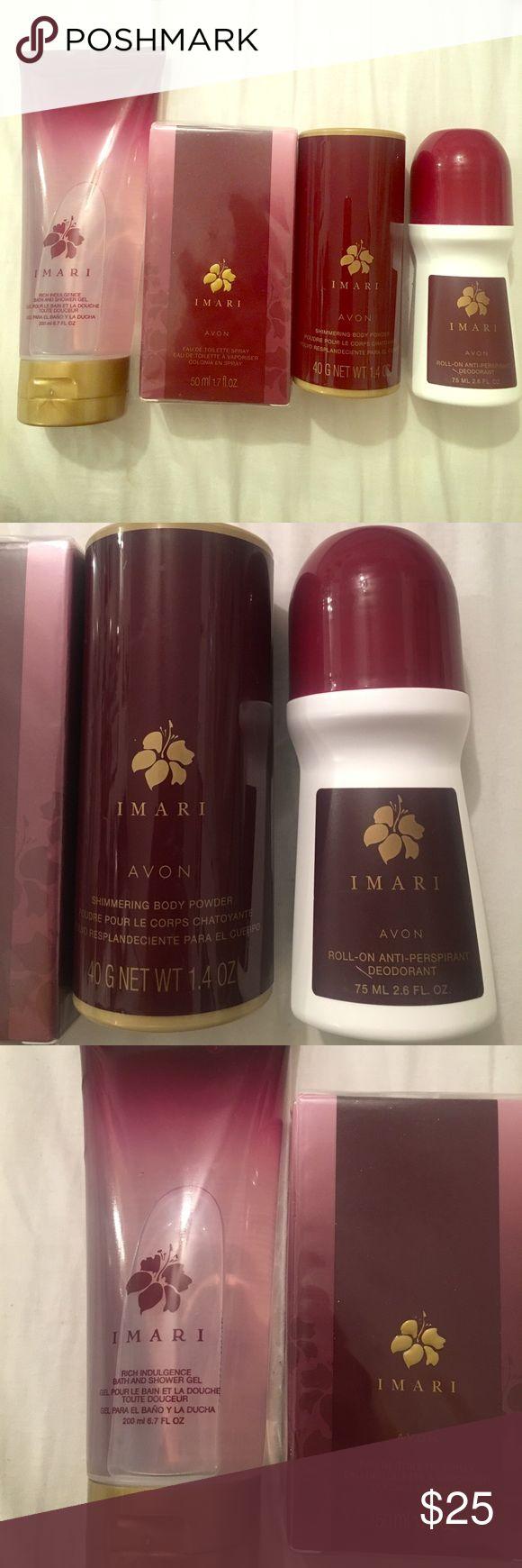 Imari Avon collection Perfume, shower gel, body powder, & deodorant! New! Other