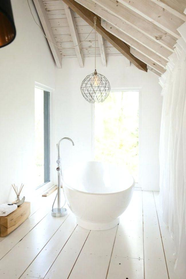 Emejing Salle De Bain Parquet Blanc Images - House Design ...