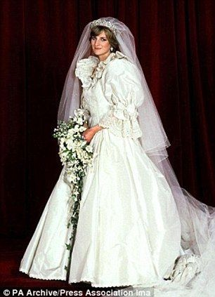 A piece of Royal history: Elizabeth Emanuel's collage of off-cuts from Princess Diana's wedding gown set to fetch up to £10,000 at auction