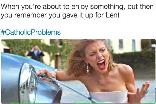 This very real problem. | 17 Catholic School Posts That'll Make Every Former Student Laugh