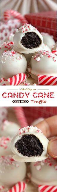 Candy Cane Oreo Truffles   My Spoon Your Taste