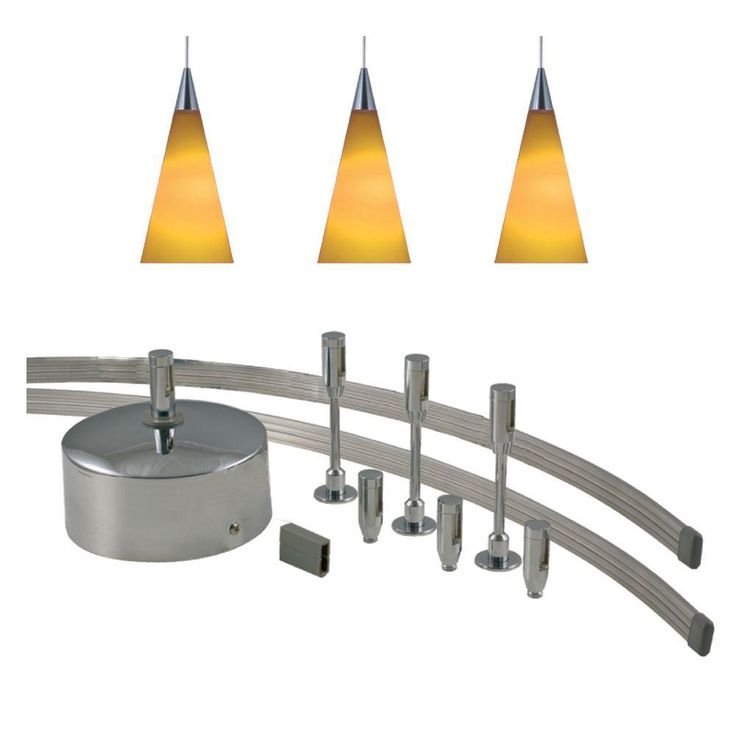 low voltage interior lighting kits%0A JESCO Lighting    in  LowVoltage    Watt Monorail Kit with   Amber