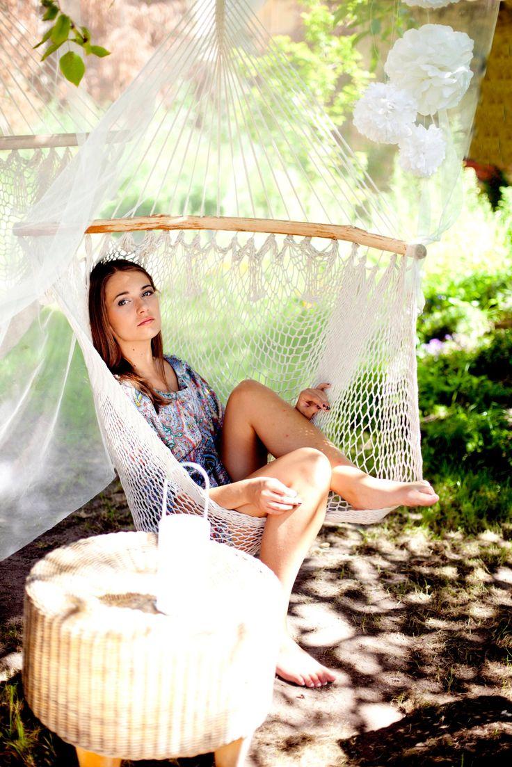 letni relaks w naszym ogrodzie