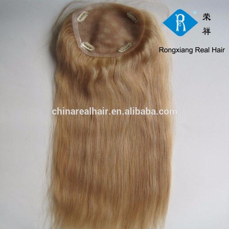Best quality cheap 100% human remy hair women long hair toupee