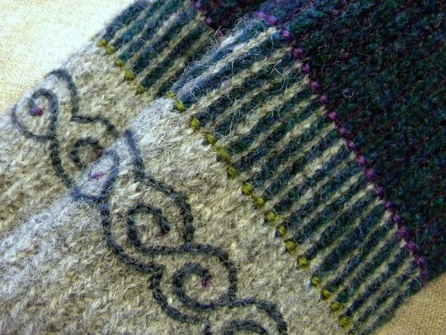 D a n c e s W i t h W o o l: Twined knitting