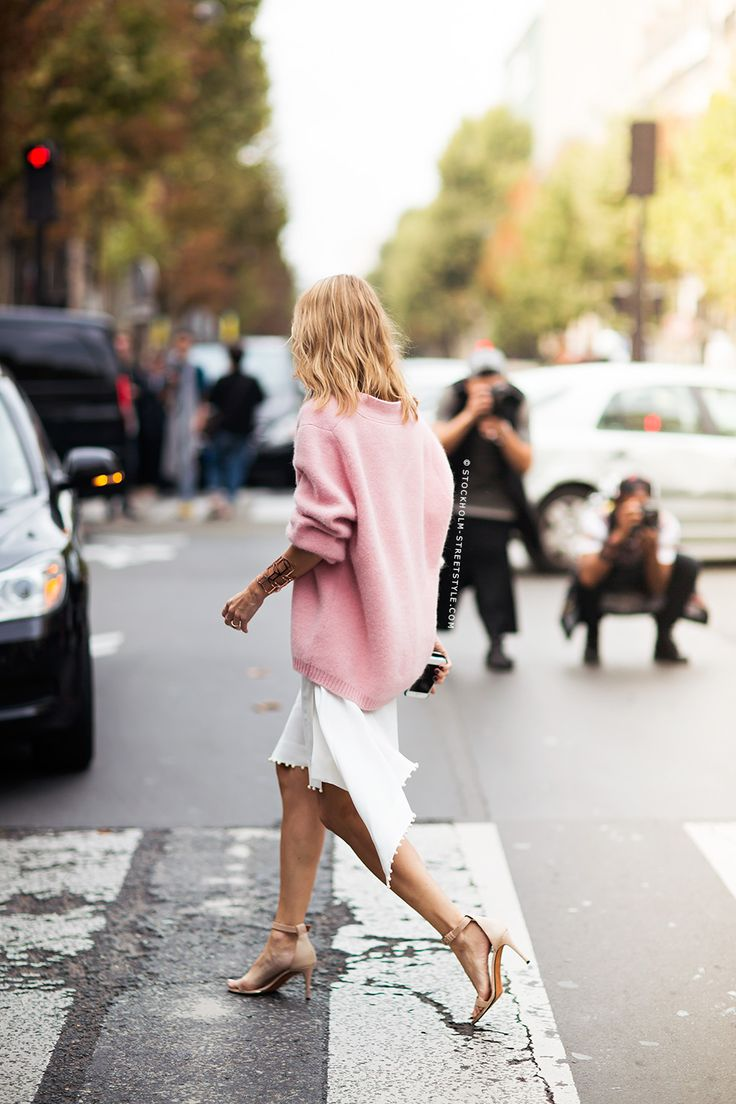Pastels in street style