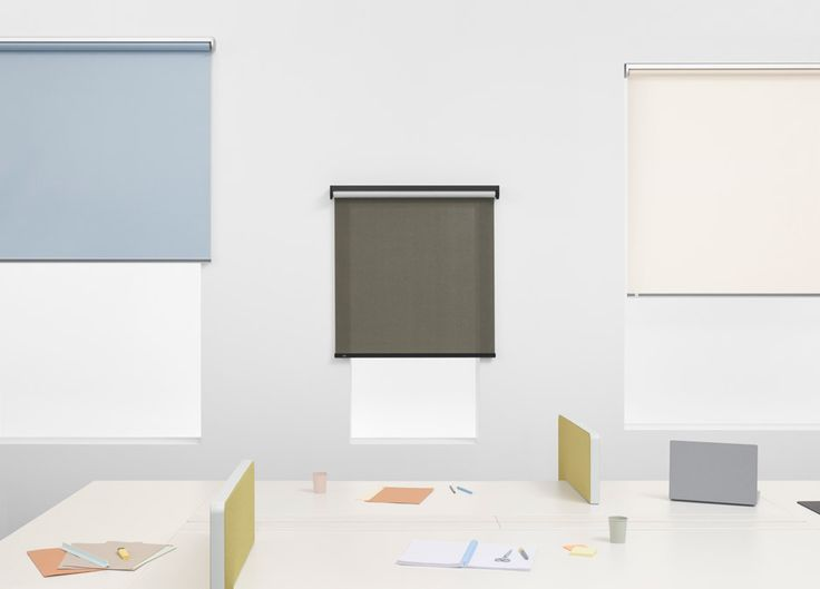 Sexy Roller Blinds by Ronan & Erwan Bouroullec for Kvadrat.