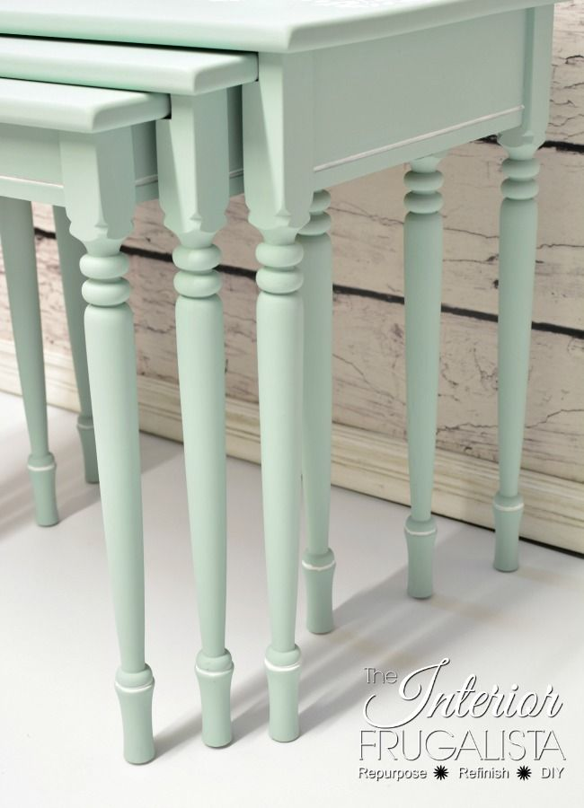 """chalk paint by Dixie Belle in """"Sea Glass"""""""