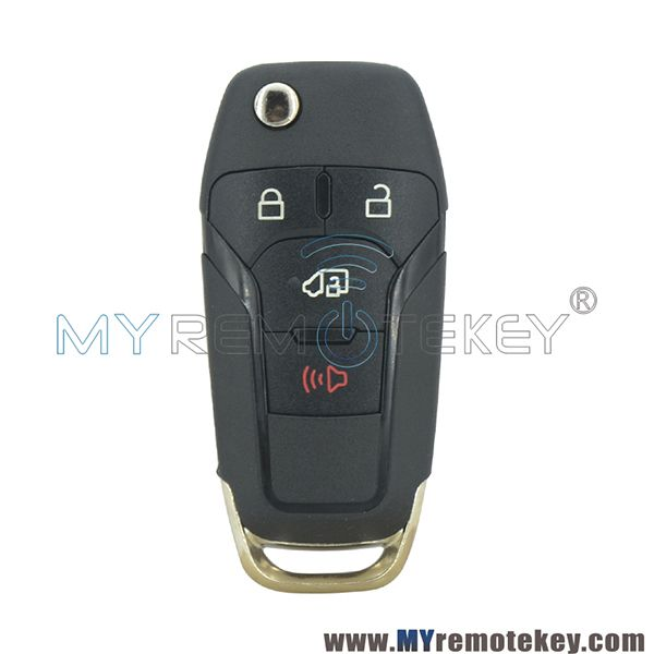 N5f A08taa Flip Remote Car Key Shell 4 Button For 2019 Ford Transit Ford Transit 2019 Ford Ford