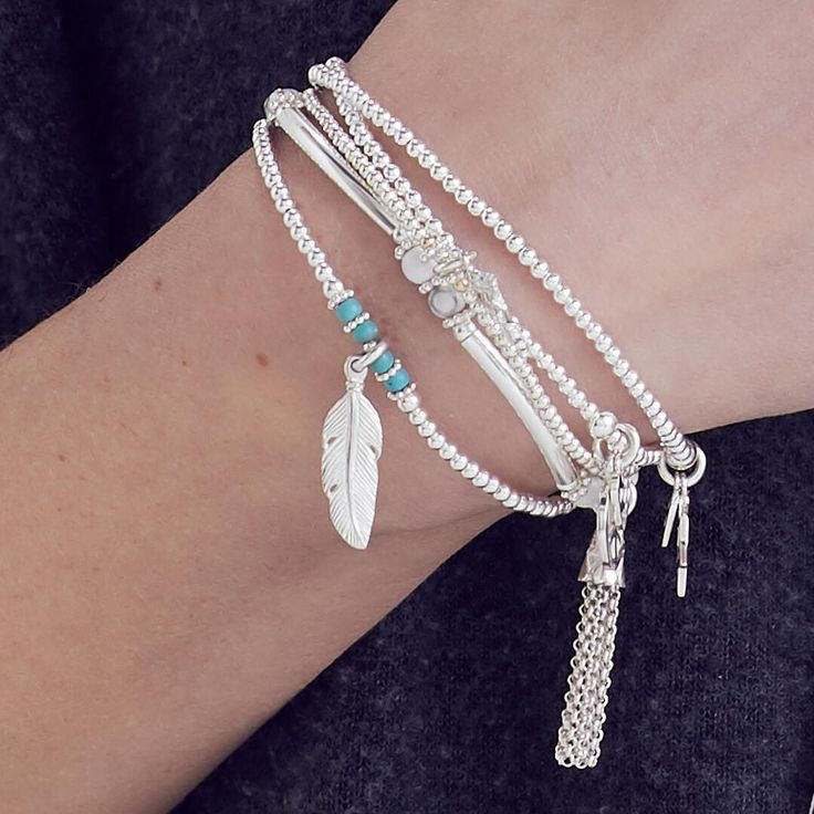 Back in stock is our super cute feather charms shop the Heavenly Collection to get yours now.