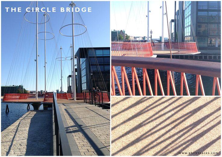Copenhagen's little gem, The Circle Bridge. 2015