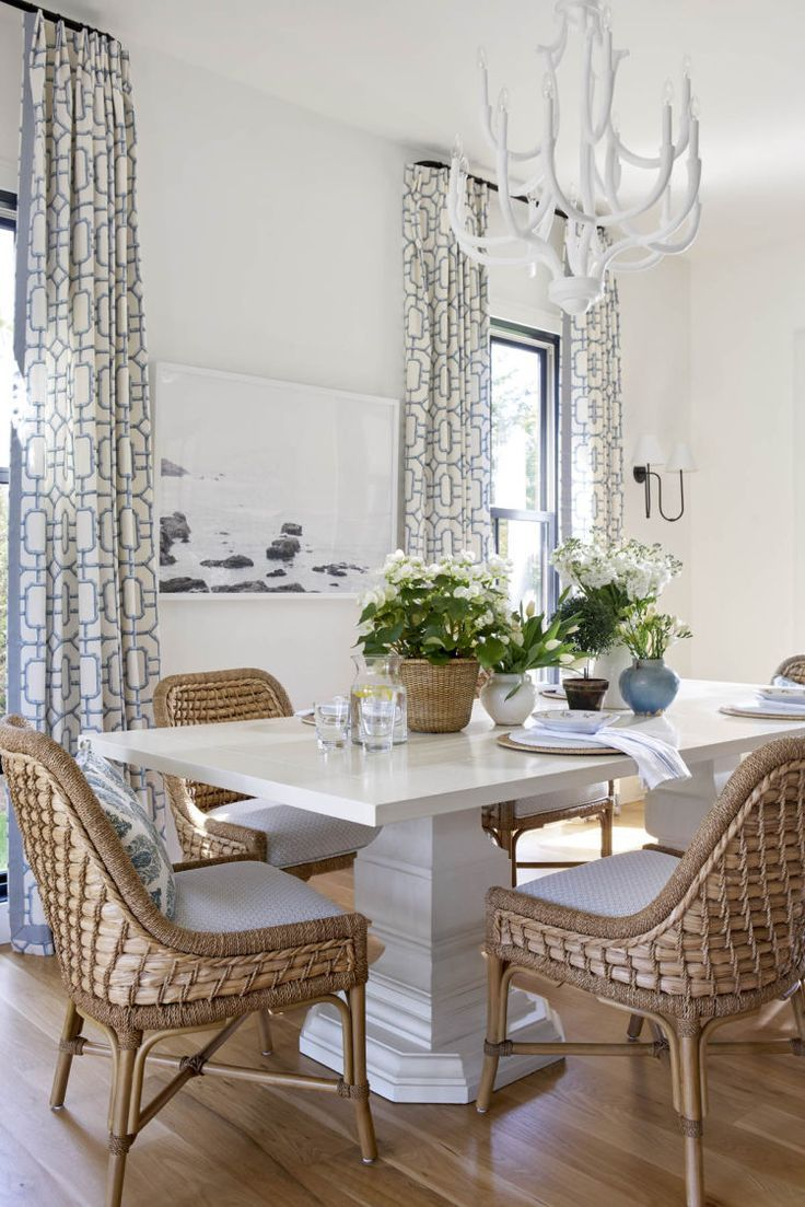 House Tour Marcy S House Design Chic Design Chic Rustic Dining Furniture Outdoor Dining Furniture Rattan Dining Chairs