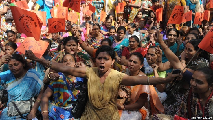 A nationwide strike called by trade unions, including those affiliated with the government, hit Indian cities as people joined the call for tighter labour laws and a minimum wage.