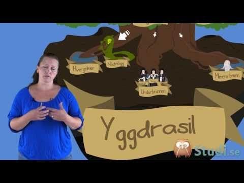Asatron världsbild (Religion) Mellanstadiet - YouTube