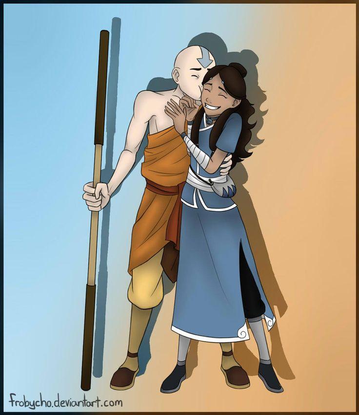 Аватар комиксы картинки аанг и катара