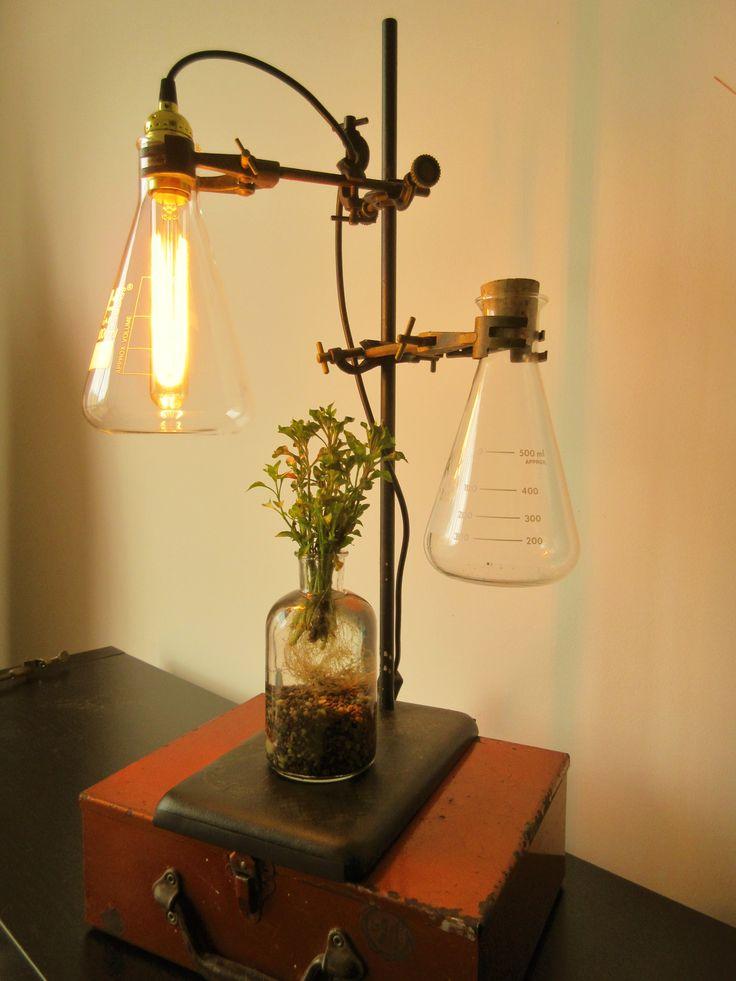 Vintage Lab lamp
